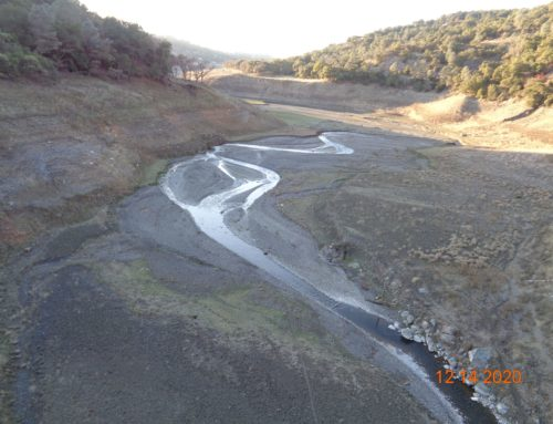 Environment: Water district empties Anderson Reservoir; gets ready for seismic upgrade