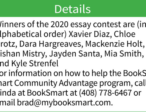 Nonprofit profile: Children express feelings about reading in BookSmart Community Advantage essay contest