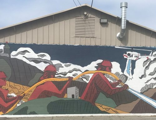 Around Town … with Robert Airoldi: New mural of firefighters in action graces wall at Cal Fire station