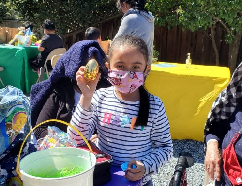 Around Town … with Robert Airoldi: Local children enjoy an early Easter egg hunt at Cecelia's Closet