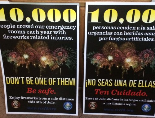 Crime story: Man is cited for illegal fireworks