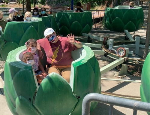 Main story: Gilroy Gardens reopens following COVID