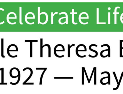 Celebrate Life: Cecile Theresa Benz