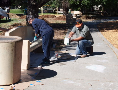 Morgan Hill Rotary club cleans Galvan Park