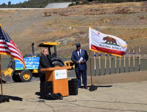Main story: Groundbreaking moves Anderson Dam retrofit project forward