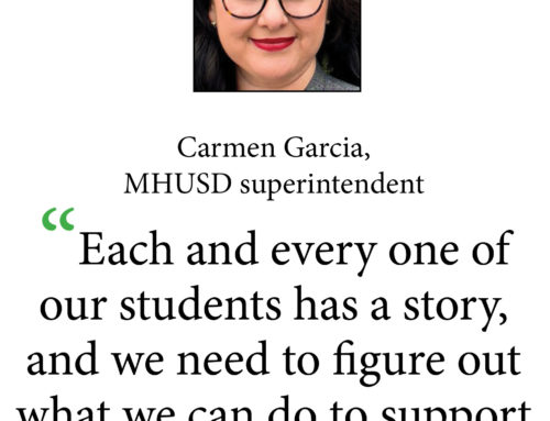 Main story: New superintendent aims to make a difference for students