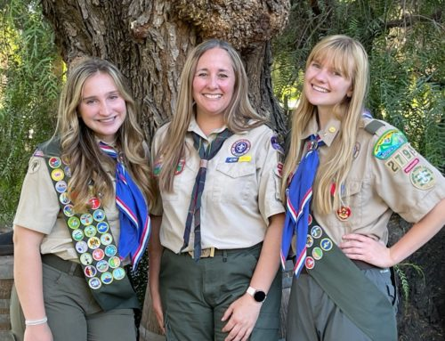 Morgan Hill Scoutmaster teaching young women to forge their own paths
