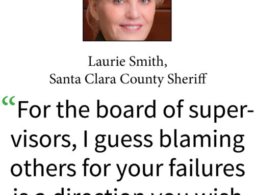 Santa Clara County Sheriff Laurie Smith gets 'no confidence' vote from supervisors